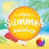 Enjoy Summer Royalty Free Stock Photo