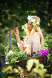 Enjoy in summer Royalty Free Stock Photography