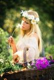 Enjoy in summer Stock Photos