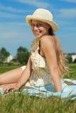 Enjoy the Sun Royalty Free Stock Image