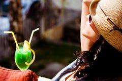 Enjoy in sun Stock Image