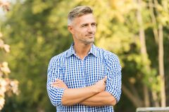 Free Enjoy The Weather. He Radiates Charisma. Male Beauty And Fashion. Young Adult Man In Casual Clothes. Barber Hair Care Stock Images - 185961064
