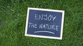 Enjoy tne nature Stock Image