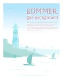 Enjoy tropical summer holiday background Stock Images