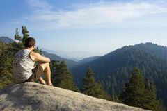 Enjoy the view Royalty Free Stock Images