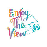 Enjoy the view. Royalty Free Stock Image