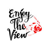 Enjoy the view. Royalty Free Stock Images