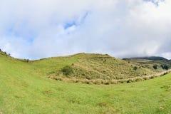 Enjoy view of nature around Qingtiangang Grassland in Yangmingshan mountain. Royalty Free Stock Images