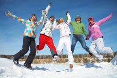 Enjoy Winter Royalty Free Stock Photo