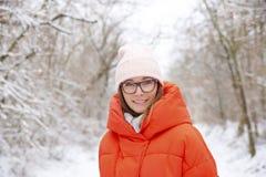 Enjoy winter weather outdoor Royalty Free Stock Photos
