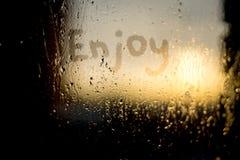 Enjoy word Stock Images
