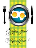 Enjoy your breakfast Stock Image