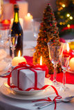 Enjoy your Christmas dinner Royalty Free Stock Photography
