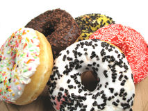 Enjoy your donuts Stock Image