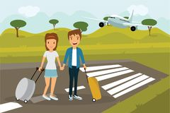 Enjoy your holiday travel trip around the world Stock Image