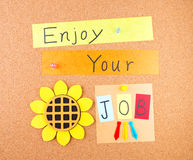 Enjoy your job Stock Photo