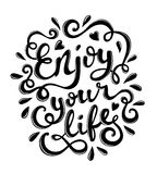 Enjoy your life Royalty Free Stock Images