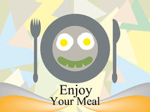Enjoy your meal Royalty Free Stock Photography