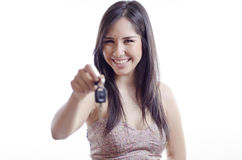 Enjoy your new car! Royalty Free Stock Photography