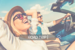 Enjoy your roadtrip. Royalty Free Stock Photography