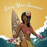 Enjoy Your Summer Royalty Free Stock Photos