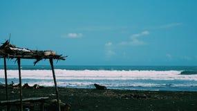 Enjoy your Vitamin Sea~. Bunton Beach Adipala, Cilacap. Indonesia stock photos