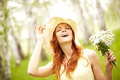 Enjoyable summertime in nature Royalty Free Stock Photo