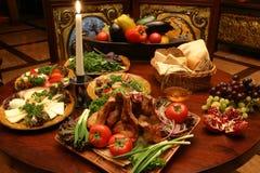 Enjoyed the buffet Stock Image