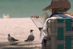 Free Enjoying A Good Book Royalty Free Stock Photos - 391328