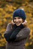 Enjoying the autumn Royalty Free Stock Images