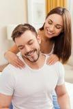 Enjoying the best massage. Stock Photos