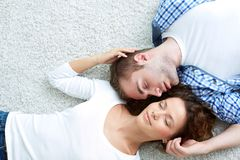 Enjoying closeness Stock Image