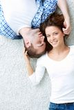 Enjoying closeness Royalty Free Stock Photos