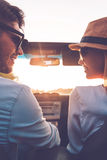 Enjoying every minute together. Royalty Free Stock Photos