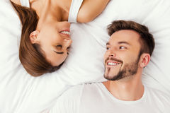 Enjoying every moment together. Stock Photos