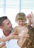 Enjoying family Stock Image