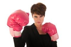 Enjoying fighting in business Royalty Free Stock Photos