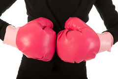 Enjoying fighting in business Royalty Free Stock Image