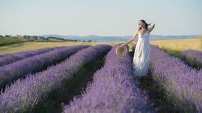 Enjoying the fragrance of life Royalty Free Stock Images