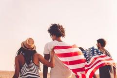 Enjoying freedom. Stock Images