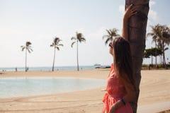 Enjoying the fresh sea air Stock Photo