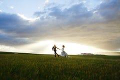 Enjoying honeymoon Royalty Free Stock Image