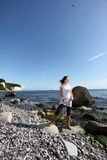 Enjoying the island Rügen Royalty Free Stock Image