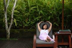 Enjoying Life at Resort Royalty Free Stock Photography