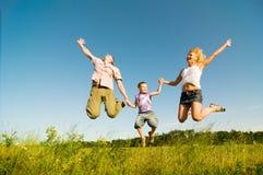 Enjoying the life together stock image