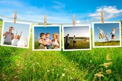 Enjoying the life together stock photos
