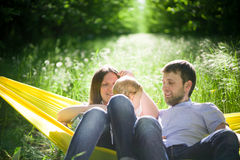 Enjoying the life together Royalty Free Stock Images