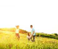 Enjoying the life together Royalty Free Stock Photography