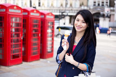 Enjoying London Stock Images