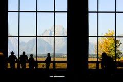 Enjoying Mountain View Royalty Free Stock Photos
